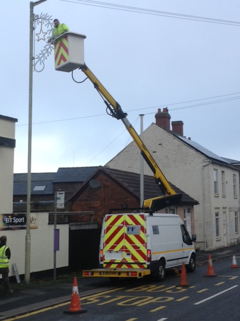 PP Electrical Services Telford Shropshire Xmas lights